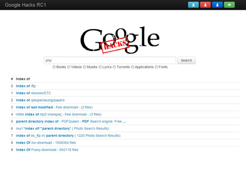 Google Hacke